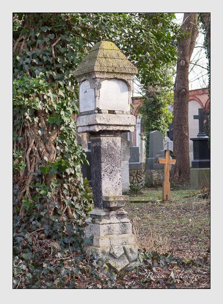 Grab der Familie Blank auf dem Alten Südfriedhof München (Februar 2014)