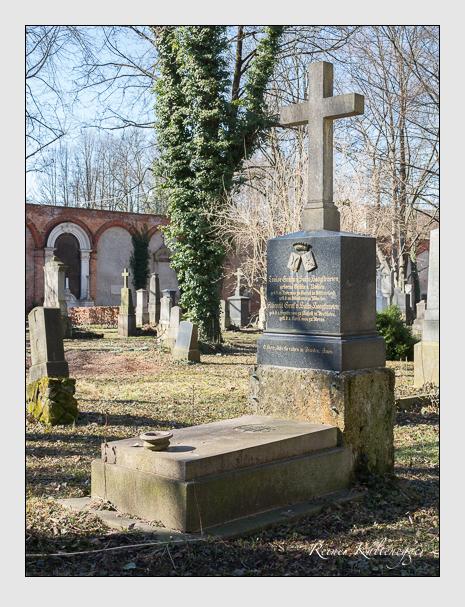 Grab der Familie Salm-Hoogstraeten auf dem Alten Südfriedhof München (Februar 2014)