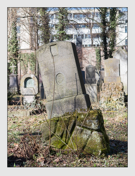 Grab der Familie Dilger auf dem Alten Südfriedhof München (Februar 2014)