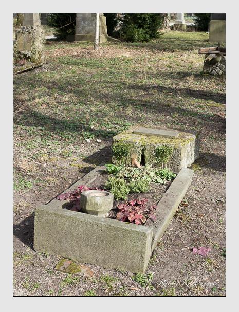 Grab der Familie Geigel auf dem Alten Südfriedhof München (März 2014)