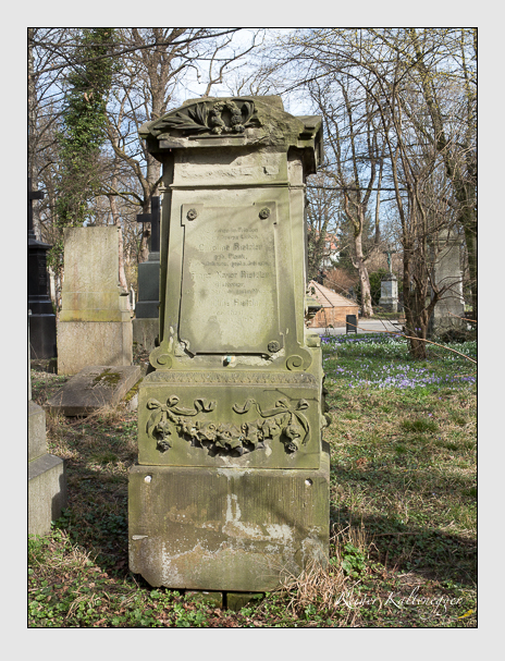 Grab der Familie Rietzler auf dem Alten Südfriedhof München (März 2014)