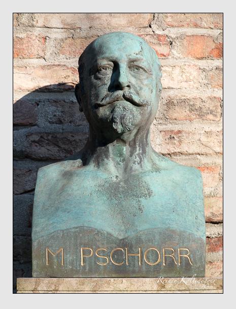Grab der Familie Pschorr auf dem Alten Südfriedhof München (März 2014)