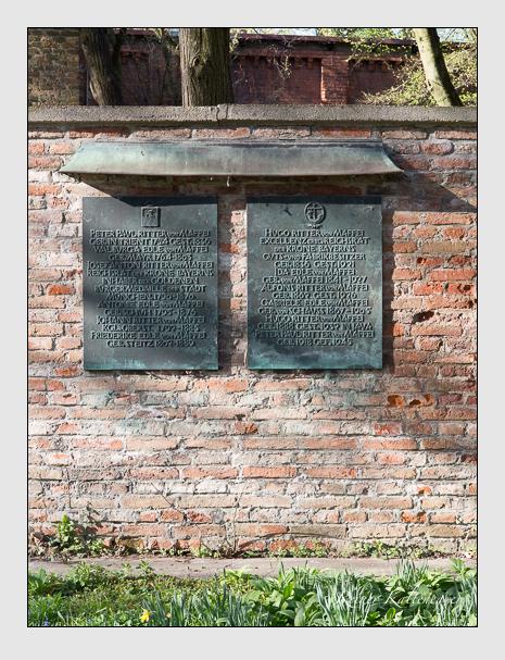 Grab der Familie Maffei auf dem Alten Südfriedhof München (März 2014)