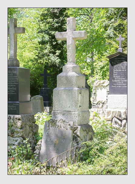 Grab der Familie Lenz auf dem Alten Südfriedhof München (Mai 2014)
