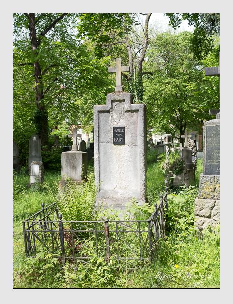 Grab der Familie Bary auf dem Alten Südfriedhof München (Mai 2014)