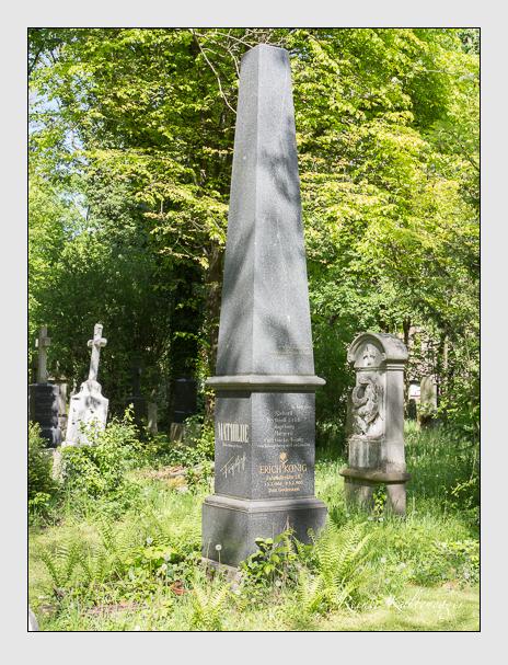Grab der Familie König auf dem Alten Südfriedhof München (Mai 2014)