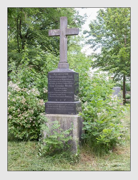 Grab der Familien Gail & Höchtl auf dem Alten Südfriedhof München (Juni 2014)