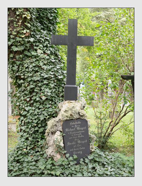 Grab der Familie Weigert auf dem Alten Südfriedhof München (August 2014)