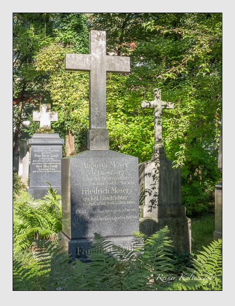 Grab der Familie Moser auf dem Alten Südfriedhof München (September 2014)