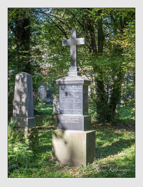 Grab der Familie Kaussler auf dem Alten Südfriedhof München (September 2014)