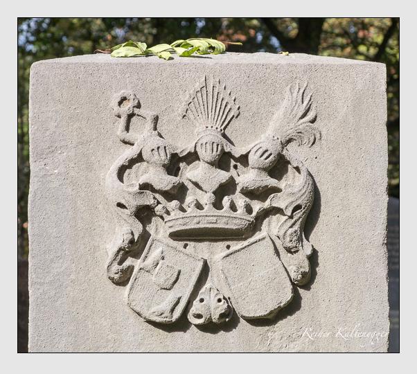 Grab der Familie Stralenheim auf dem Alten Südfriedhof München (Oktober 2014)