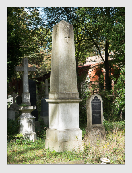 Grab der Familie Graf auf dem Alten Südfriedhof München (Oktober 2014)
