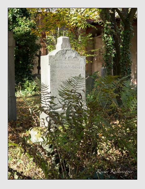 Grab der Familie Wellnhofer auf dem Alten Südfriedhof München (November 2014)