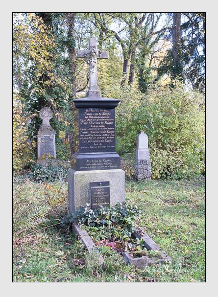 Grab der Familien Hausse & Munier auf dem Alten Südfriedhof München (November 2014)