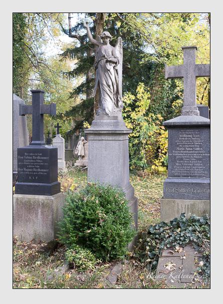 Grab der Familie Fomm auf dem Alten Südfriedhof München (November 2014)