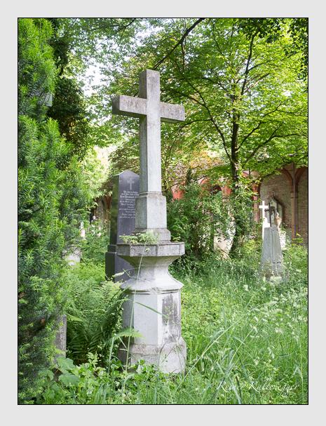 Grab der Familie Rauchenberger auf dem Alten Südfriedhof München (Mai 2015)