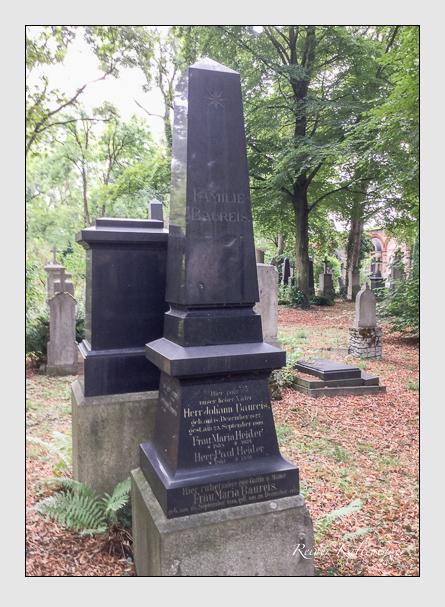Grab der Familien Baureis · Heider auf dem Alten Südfriedhof München (September 2015)