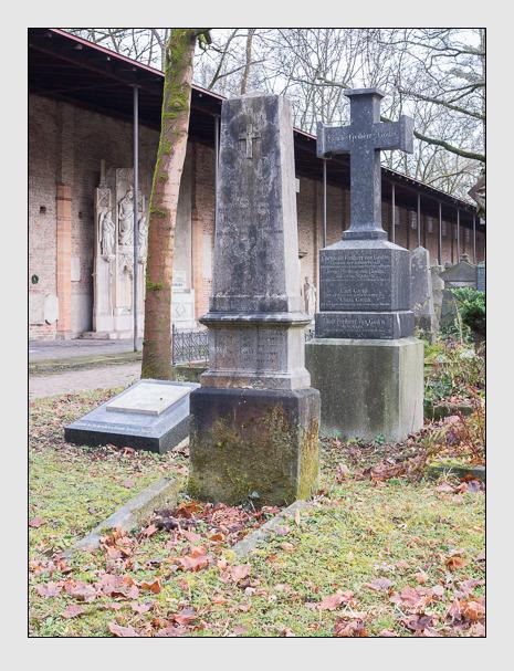 Grab der Familie Loibl auf dem Alten Südfriedhof München (Dezember 2015)