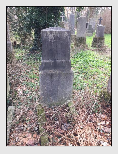Grab der Familie Adler auf dem Alten Südfriedhof München (März 2016)