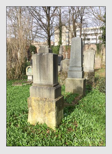 Grab der Familie Wenninger auf dem Alten Südfriedhof München (März 2016)