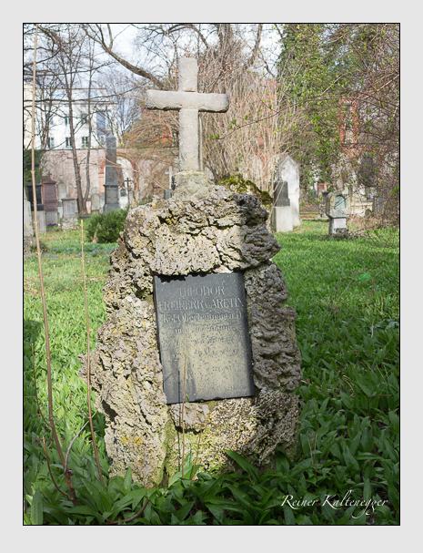 Grab der Familie Aretin auf dem Alten Südfriedhof München (März 2016)
