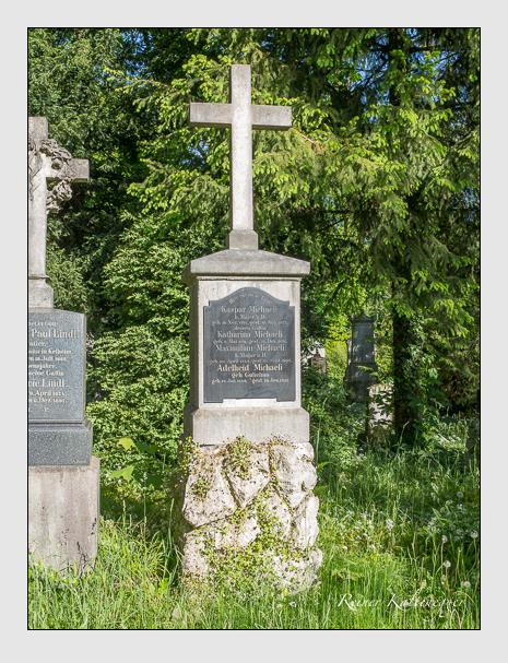 Grab der Familie Michaeli auf dem Alten Südfriedhof München (Mai 2016)