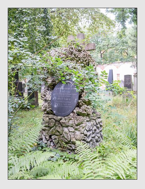 Grab der Familie Leiter auf dem Alten Südfriedhof München (Juli 2016)