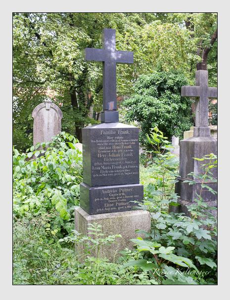 Grab der Familien Frank · Püttner auf dem Alten Südfriedhof München (Juli 2016)