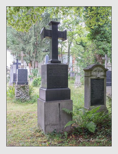 Grab der Familie Pestalazzi auf dem Alten Südfriedhof München (Juli 2016)
