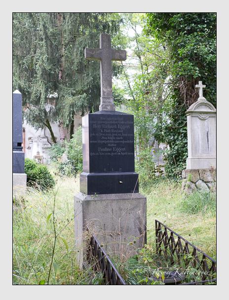 Grab der Familie Eggert auf dem Alten Südfriedhof München (Juli 2016)