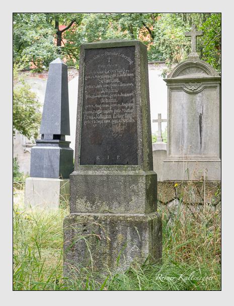 Grab der Familie Leberfing auf dem Alten Südfriedhof München (Juli 2016)