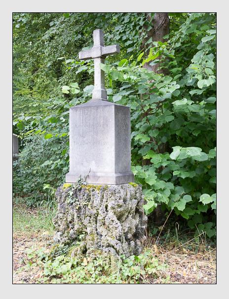 Grab der Familie Kraus auf dem Alten Südfriedhof München (Juli 2016)