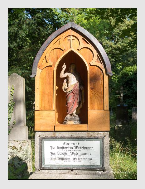 Grab der Familie Weichmann auf dem Alten Südfriedhof München (Juli 2016)