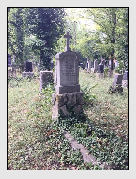 Grab der Familie Meier auf dem Alten Südfriedhof München (Juli 2017)