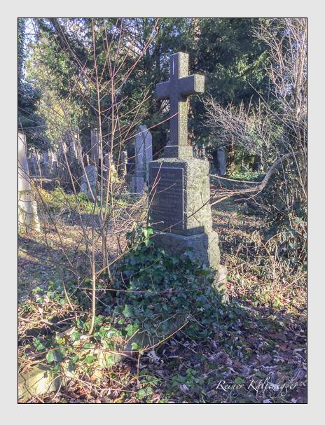 Grab der Familien Hort & Meller auf dem Alten Südfriedhof München (Dezember 2017)