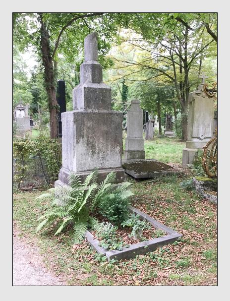 Grab der Familie Tattenbach auf dem Alten Südfriedhof München (Dezember 2017)