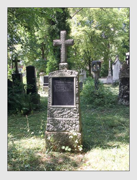 Grab der Familie Tremel auf dem Alten Südfriedhof München (Januar 2018)