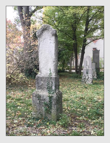 Grab der Familie Wirth auf dem Alten Südfriedhof München (Januar 2018)