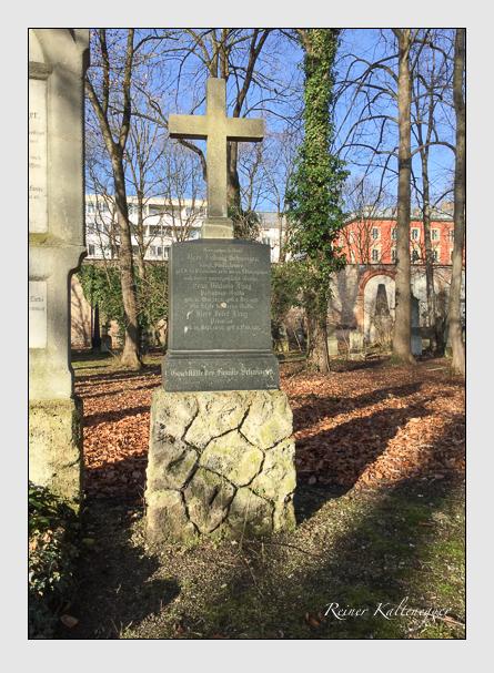 Grab der Familien Lang · Schweiger auf dem Alten Südfriedhof München (Januar 2018)