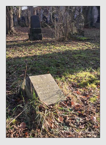 Grab der Familie Kastner auf dem Alten Südfriedhof München (Januar 2018)