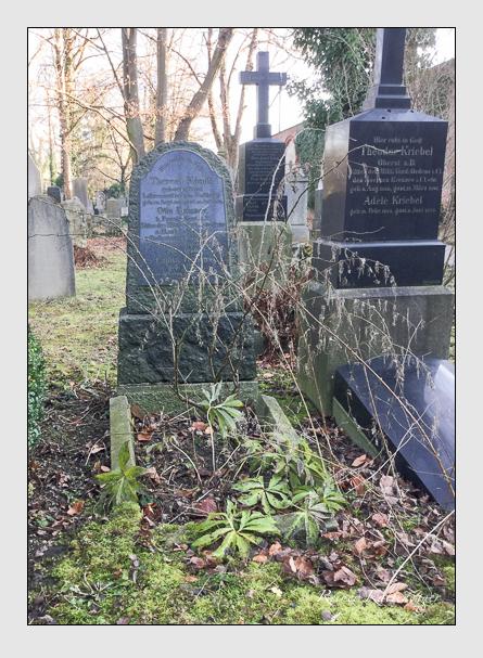 Grab der Familien Mändl · Manz · Reisner auf dem Alten Südfriedhof München (Januar 2018)