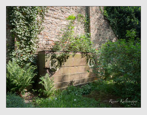Grab der Familien Carnot & Schneider & Schönlin auf dem Alten Südfriedhof München (Mai 2018)