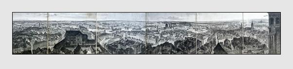Johann Gabriel Friedrich Poppel: Panorama von München(1843)