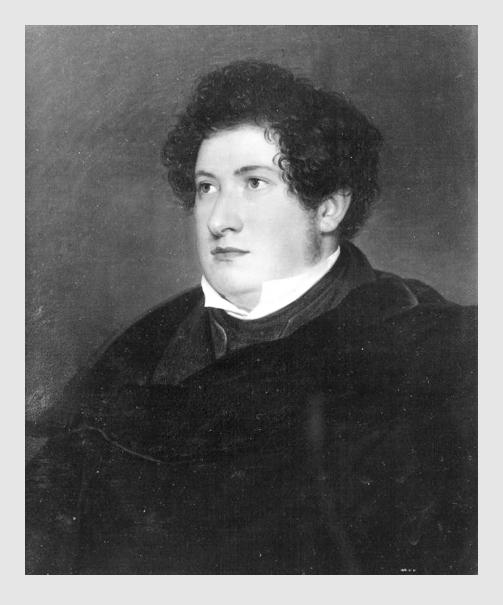 August Riedel: Der Hofsänger Julius Pellegrini (1831). Bayerische Staatsgemäldesammlungen.