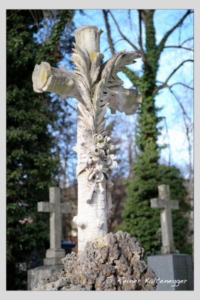 Grab der Familie Zettler auf dem Alten Südfriedhof München (Januar 2021)
