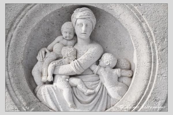 Grab der Familie Gleitsmann auf dem Alten Südfriedhof München (Januar 2021)