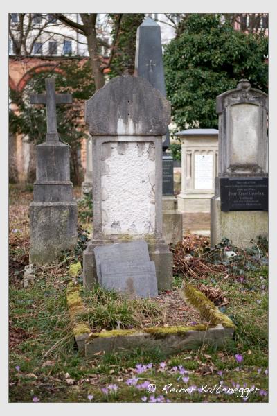 Grab der Familie Jungermann auf dem Alten Südfriedhof München (März 2021)