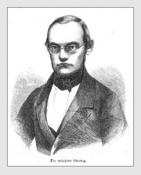 Portrait von Johann Karl Vogt aus »Illustrirte Zeitung (14.2.1857)«