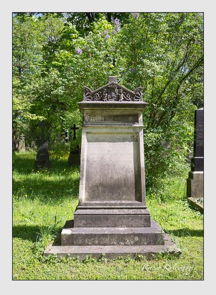 Grab der Familie Kreusser auf dem Alten Südfriedhof München (Mai 2013)