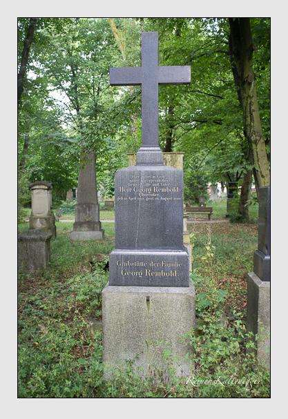 Grab der Familien Kröner & Rembold auf dem Alten Südfriedhof München (August 2013)